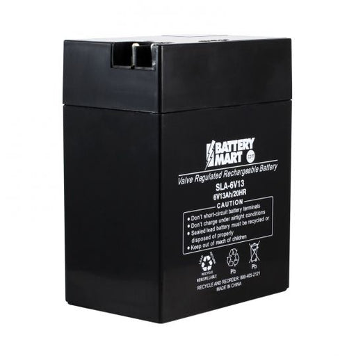 Long WP13-6 - 6V 13AH SLA Battery