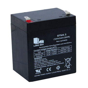 Bright Way Group BW 1245 - 12V 4.5AH SLA Battery