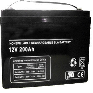 Bright Way Group BW 4D AGM - 12V 200AH SLA Battery