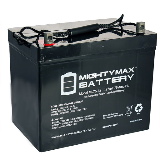 Bright Way Group BW EV-24 HD - 12V 75AH SLA Battery