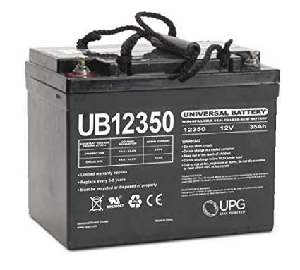 Bright Way Group BW EV-U1 HD - 12V 35AH SLA Battery