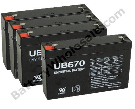 apc rbc34 pack is for one ups 4 6v 7ah batteries