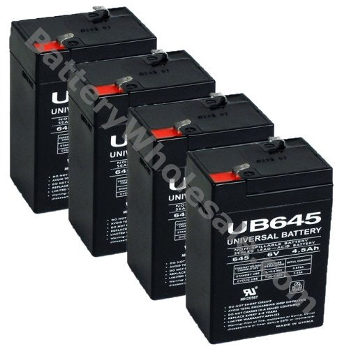 tripp lite smart unison ps450 pack is for one ups 4 6v 4 5ah batteries