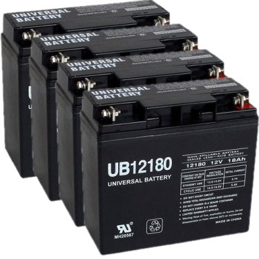 parasystems minuteman bp48v17a pack is for one ups 4 12v 18ah batteries
