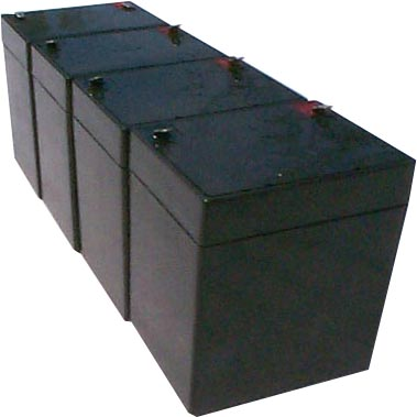 tripp lite unison dp400 pack is for one ups 4 12v 5ah batteries