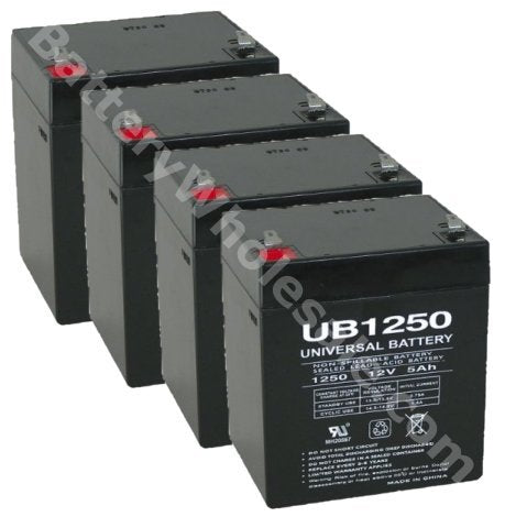 apc smart ups 400 ap400 pack is for one ups 4 12v 5ah batteries
