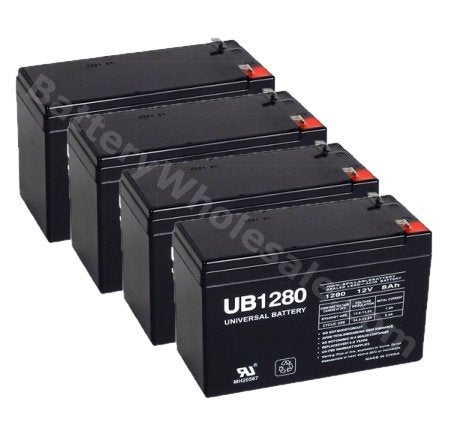 apc smart ups 1400rm su1400rm pack is for one ups 4 12v 8ahf2 batteries