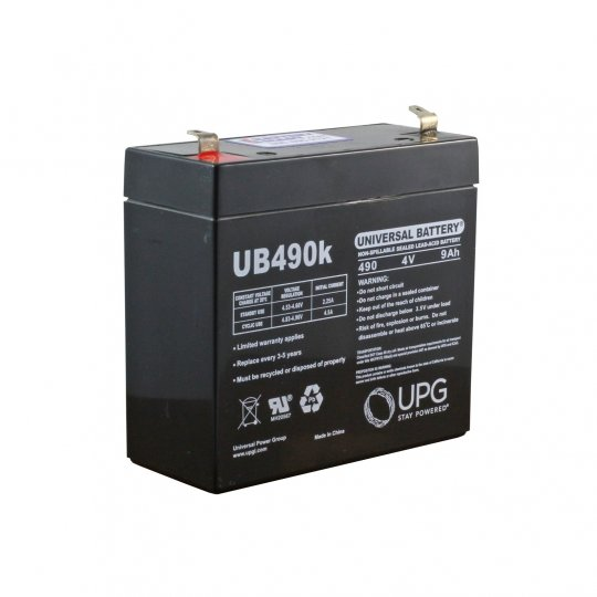CSB GP490 - 4V 9AH SLA Battery