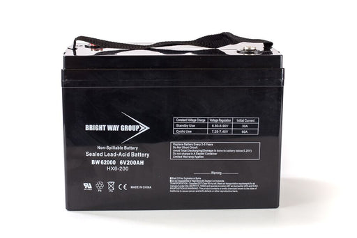 Power PRC6200 - 6V 200AH SLA Battery