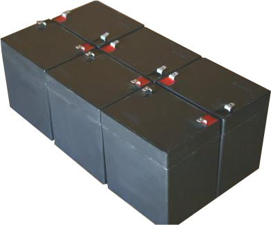 tripp lite unison dp1000 pack is for one ups 6 12v 5ah batteries