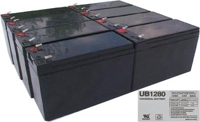 liebert gxt3000rt 120 pack is for one ups 8 12v 8ah batteries