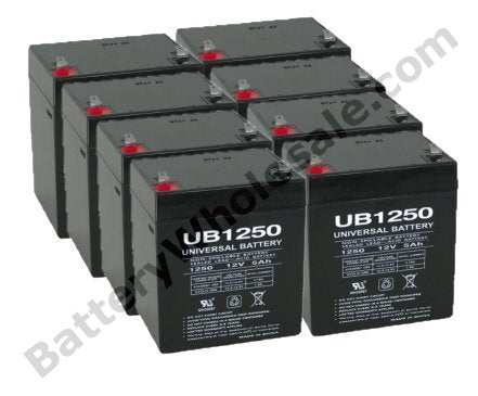 apc rbc43 pack is for one ups 8 12v 5ah batteries