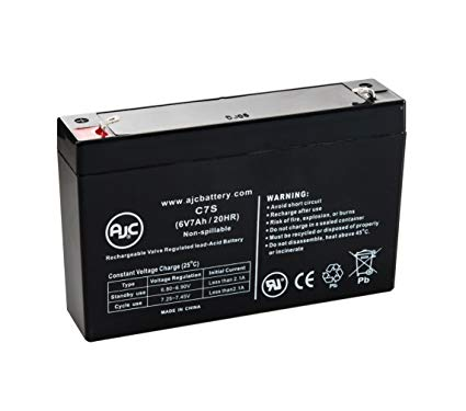 BB BP7-6 - 6V 7AH B&B batteries - SLA Battery