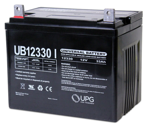 Long U1-34 - 12 Volt 33 Amp hour SLA Battery