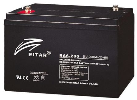 BestPower BA-50 - 6V 200AH SLA Battery