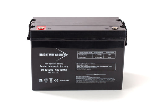 Bright Way Group BW 121000 IT (Group 27) - 12V 100AH SLA Battery