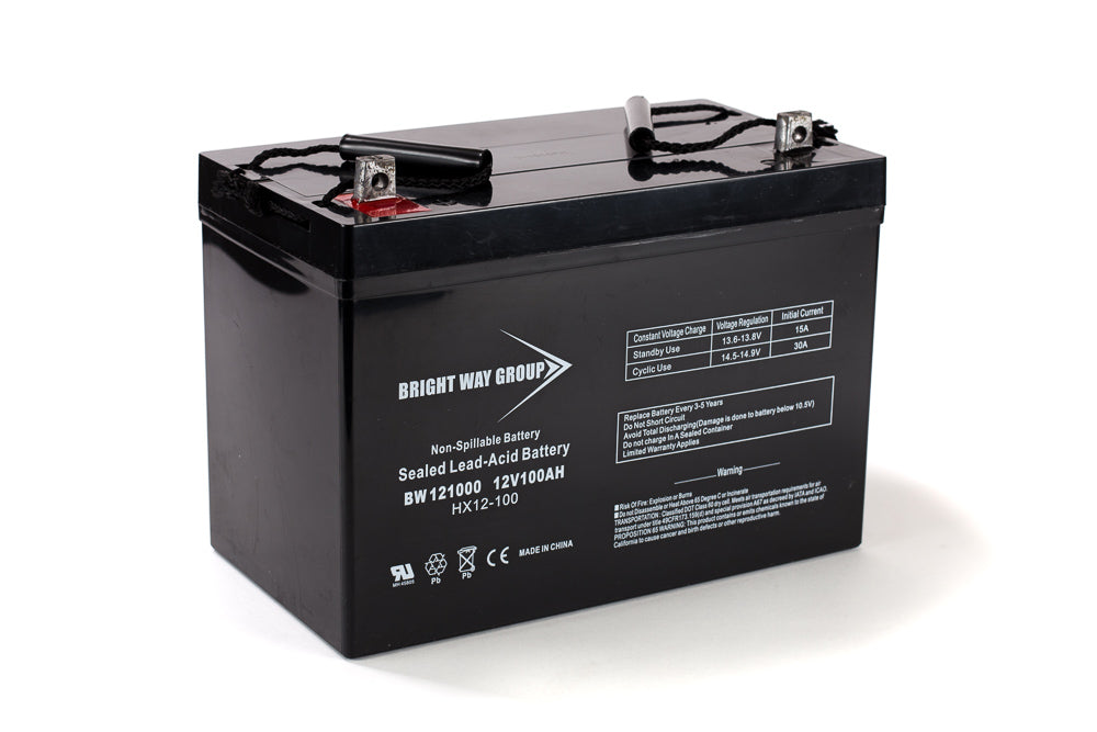 bright way group bw 121100 z group 30h 12v 110ah sla battery