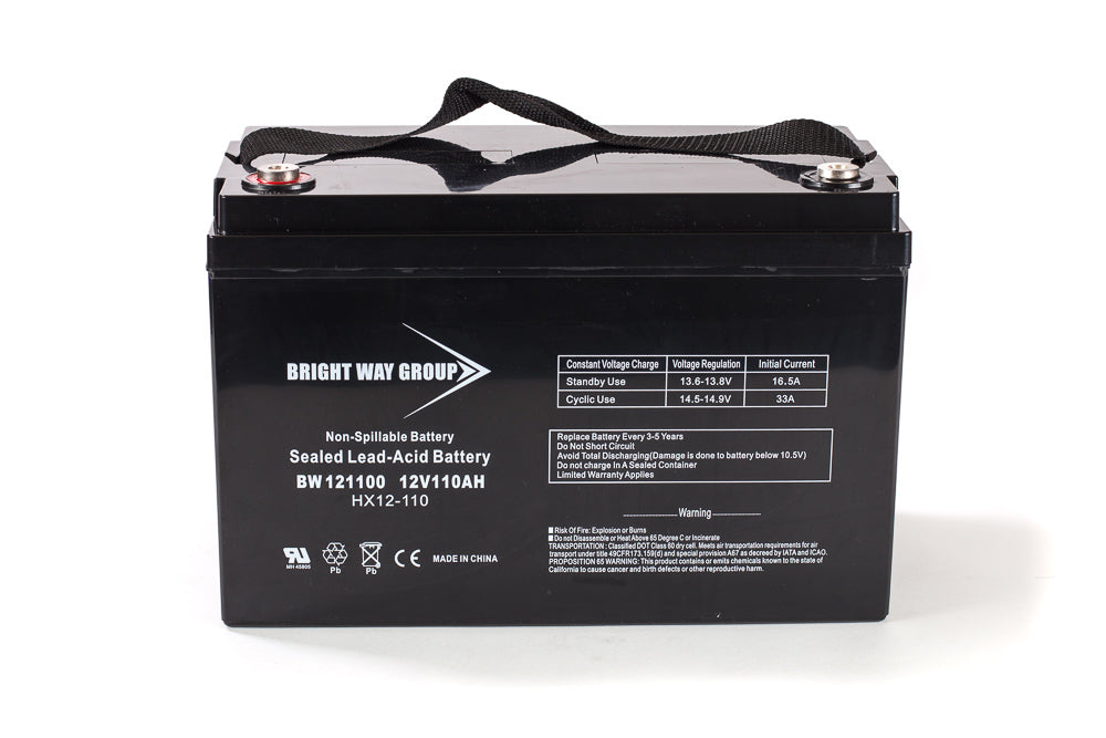 Bright Way Group BW 121100 IT (Group 30H) - 12V 110AH SLA Battery