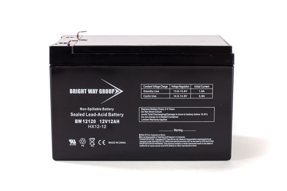 APC SU620 NET - Pack is for one ups, (1) 12V 12AH Battery