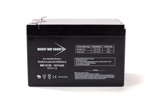 Bright Way Group BW 12120 F2 - 12V 12AH SLA Battery