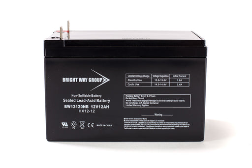 Bright Way Group BW 12120 NB - 12V 12AH SLA Battery