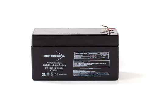 bright way group bw 1213 12v 1 3ah sla battery