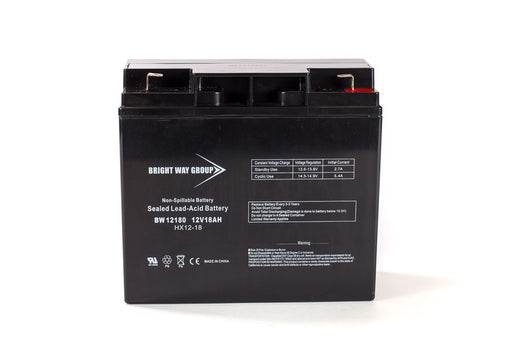 Bright Way Group BW 12180 F2 - 12V 18AH SLA Battery