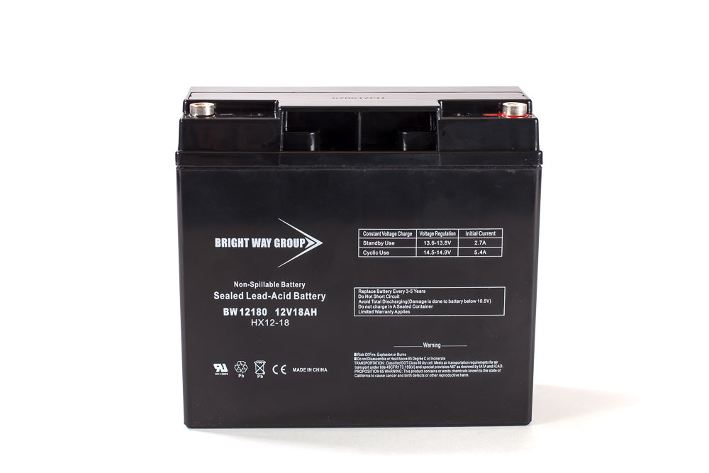 Bright Way Group BW 12180 IT - 12V 18AH SLA Battery