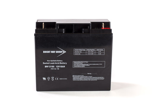 Merits SP24 PIONEER - Pack is for (1) 12V 18AH Battery