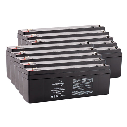 Tripp Lite Datashield SS700 - Pack is for one ups, (10) 12V 2.2AH Batteries