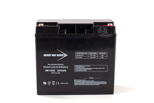 Bright Way Group BW 12220 IT - 12V 22AH SLA Battery