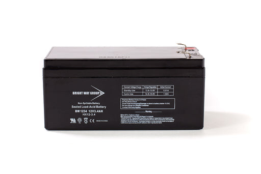 bright way group bw 1234 12v 3 4ah sla battery