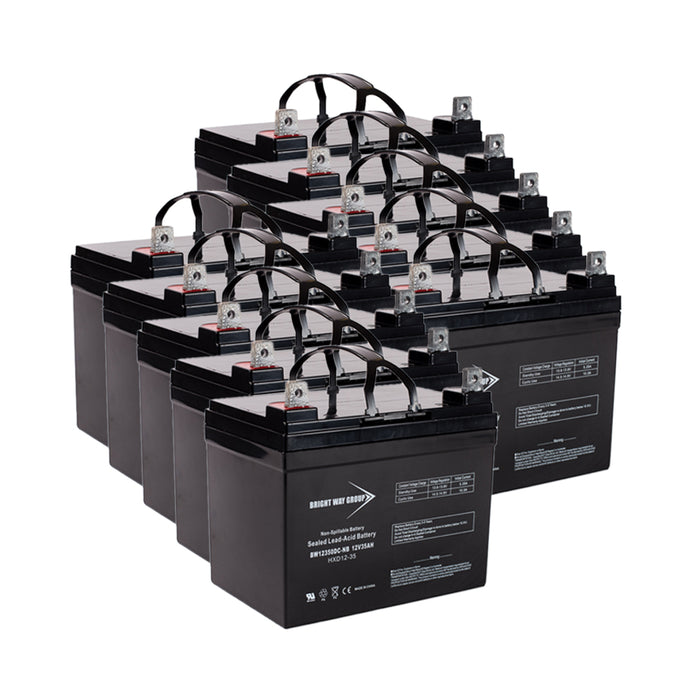 Best FE 10KVA BAT-0053 - Pack is for one UPS, (10) 12V 35AH Batteries