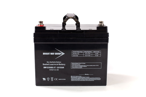 bright way group bw 12350 it group u1 12v 35ah sla battery