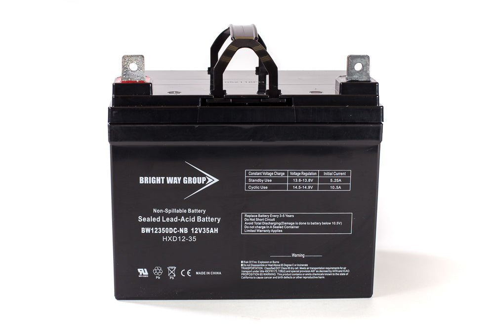 Merits MP1L N - Pack is for (1) 12V 35AH Battery