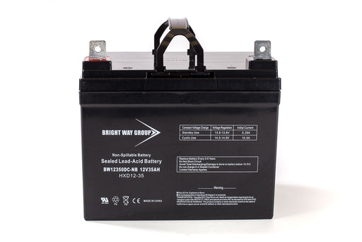 Pride Mobility Partner - Pack is for (1) 12V 35AH Battery