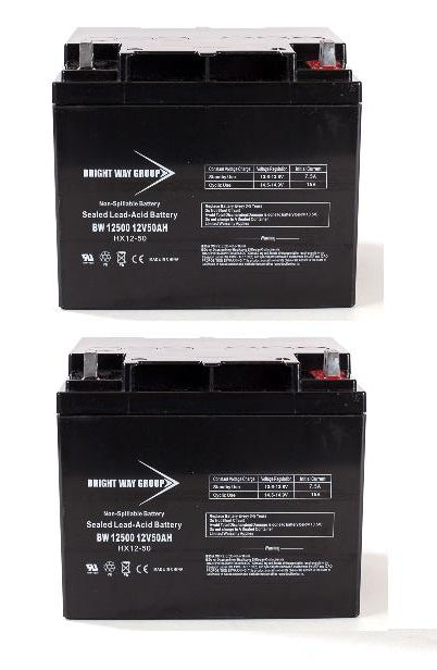 Amigo GT Transport - Pack is for (2) 12V 50AH Batteries