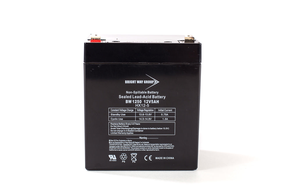 APC RBC30 - Pack is for one ups, (1) 12V 5AH Battery