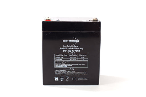bright way group bw 1250 f1 12v 5ah sla battery