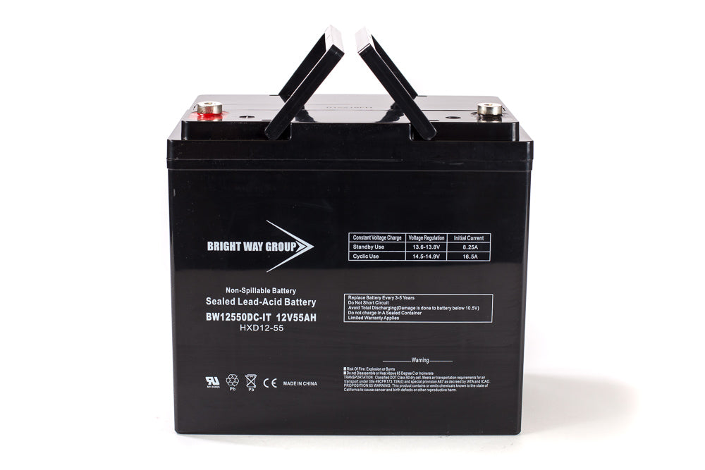 bright way group bw 12550 it group 22nf 12v 55ah sla battery