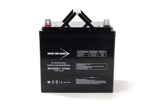 Adaptive Driving Systems Model 14 - Pack is for (2) 12V 55AH Batteries