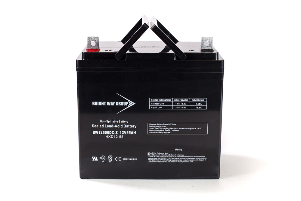 Bright Way Group BW 12550 Z (Group 22NF) - 12V 55AH SLA Battery