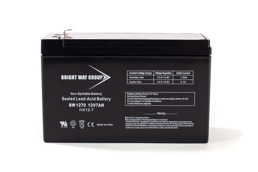 bright way group bw 1270 1 75kg 12v 7ah sla battery