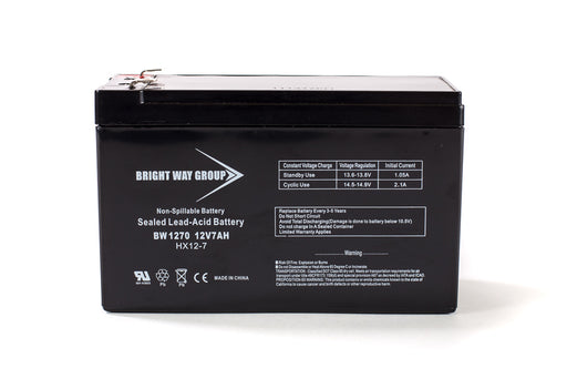 Bright Way Group BW 1270 F2  - 12V 7AH SLA Battery
