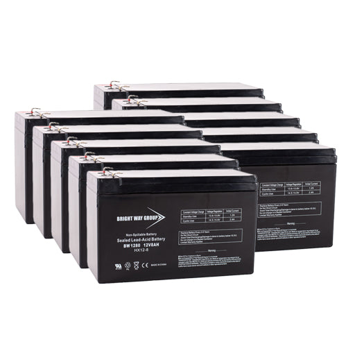 Parasystems/Minuteman CPR 3200 - Pack is for one ups, (10) 12V 8AH Batteries