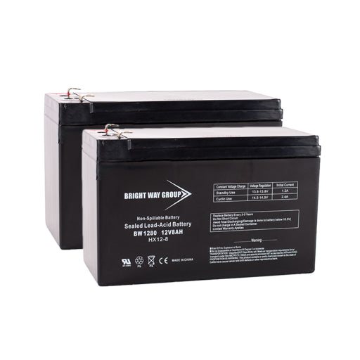 APC RBC33 - Pack is for one ups, (2) 12v 8AhF2 F2 Batteries