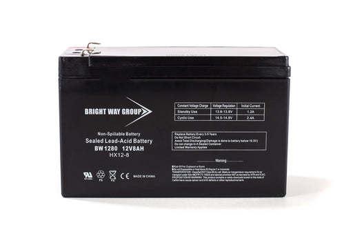 bright way group bw 1280 f2 12v 8ah sla battery