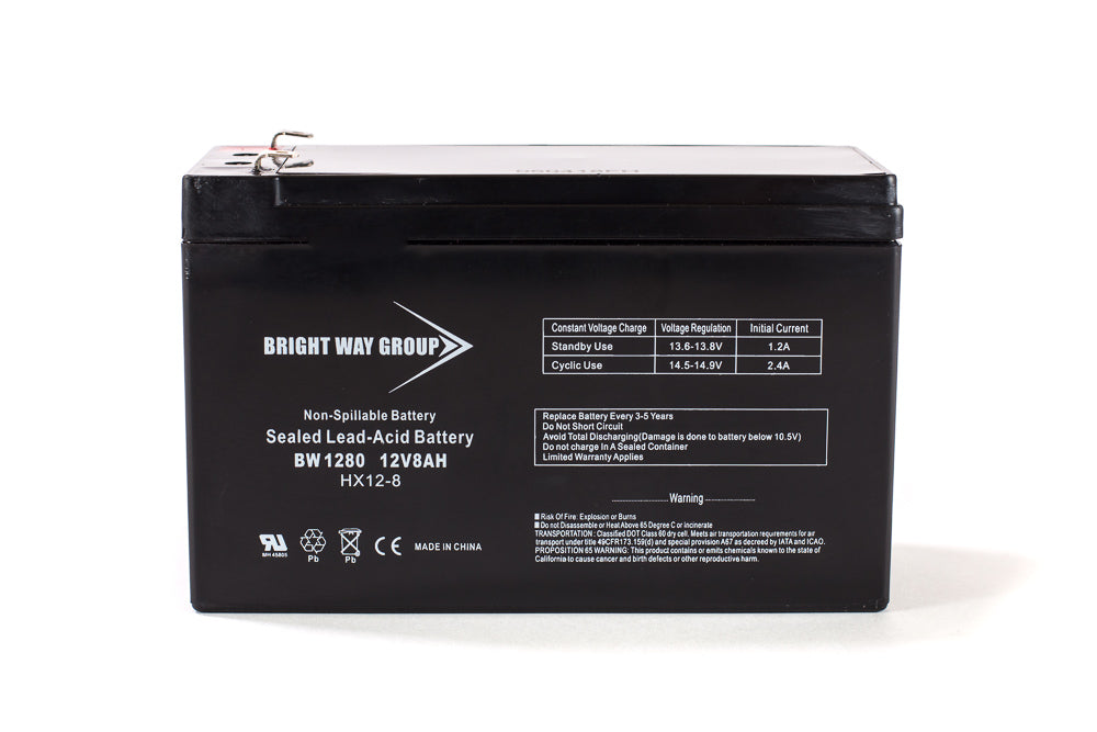APC BACK UPS 200 - Pack is for one ups, (1) 12v 8AhF2 Battery