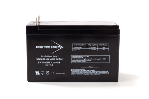 Bright Way Group BW 1290 NB - 12V 9AH SLA Battery