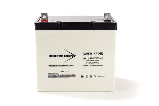 Bright Way Group BW EV-22 DC - 12V 55AH SLA Battery
